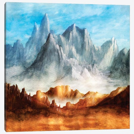Over The Mountains I Canvas Print #VGO70} by Viviana Gonzalez Canvas Artwork