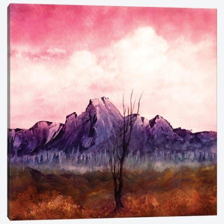 Over The Mountains II Canvas Print #VGO71} by Viviana Gonzalez Canvas Art