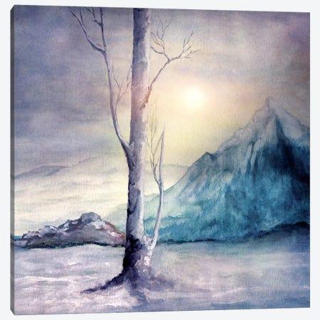 Winter Melody Canvas Print #VGO73} by Viviana Gonzalez Canvas Artwork