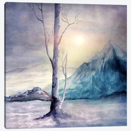 Winter Melody Canvas Print #VGO73} by Viviana Gonzalez Canvas Artwork