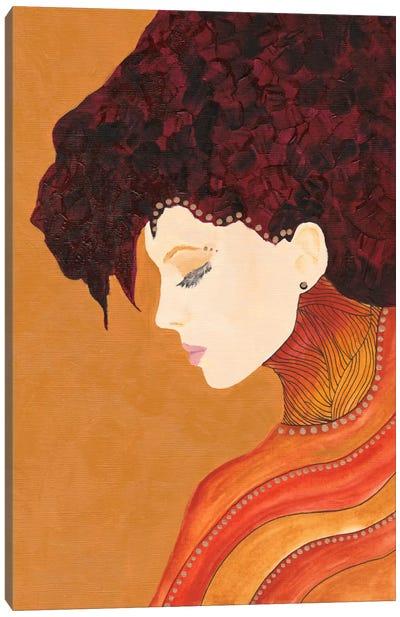 Anne Canvas Art Print
