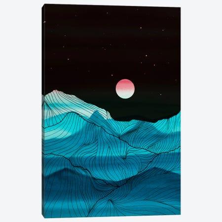 Lines In The Mountains XV Canvas Print #VGO82} by Viviana Gonzalez Canvas Print