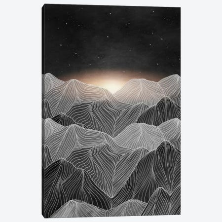 Lines In The Mountains XIX Canvas Print #VGO84} by Viviana Gonzalez Canvas Artwork