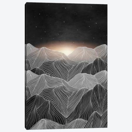 Lines In The Mountains XIX 3-Piece Canvas #VGO84} by Viviana Gonzalez Canvas Artwork