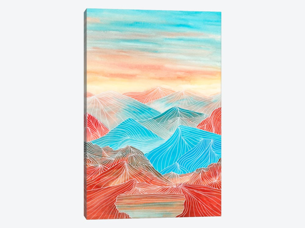 Lines In The Mountains XX by Viviana Gonzalez 1-piece Canvas Art