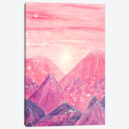 Lines In The Mountains XXI Canvas Print #VGO86} by Viviana Gonzalez Canvas Wall Art