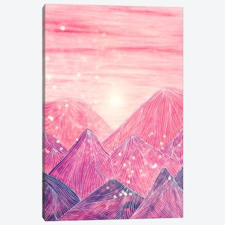Lines In The Mountains XXI Canvas Print #VGO86} by Viviana Gonzalez Canvas Wall Art