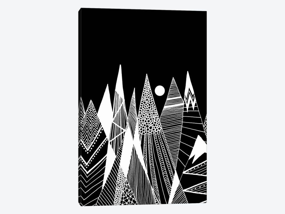 Patterns In The Mountains I by Viviana Gonzalez 1-piece Canvas Artwork