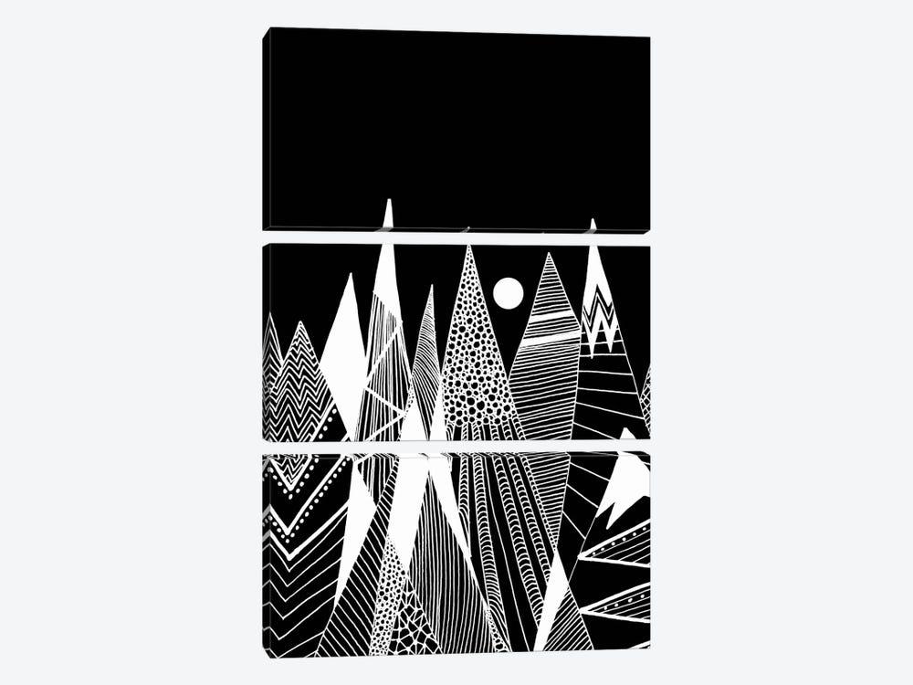 Patterns In The Mountains I by Viviana Gonzalez 3-piece Canvas Artwork