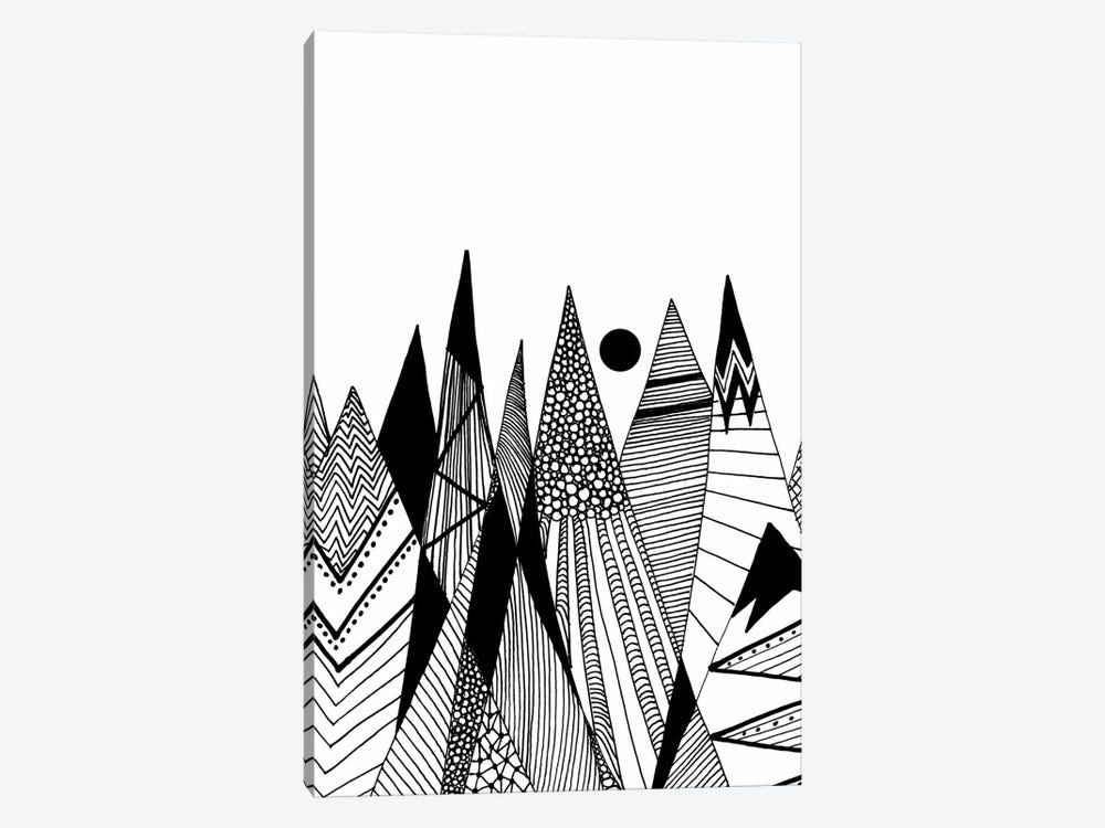 Patterns In The Mountains II by Viviana Gonzalez 1-piece Canvas Art Print