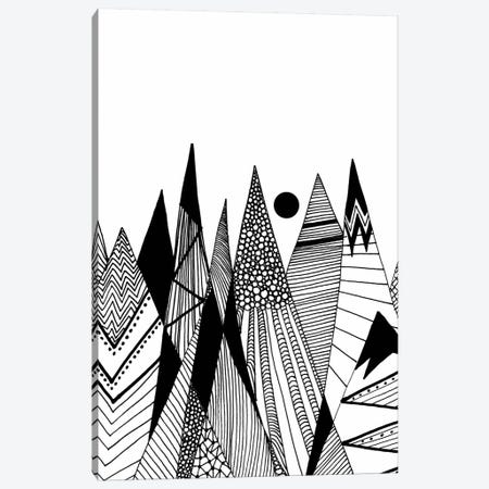 Patterns In The Mountains II Canvas Print #VGO88} by Viviana Gonzalez Canvas Print