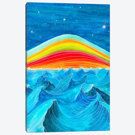 Rainbow Mountain Canvas Print #VGO89} by Viviana Gonzalez Canvas Art Print