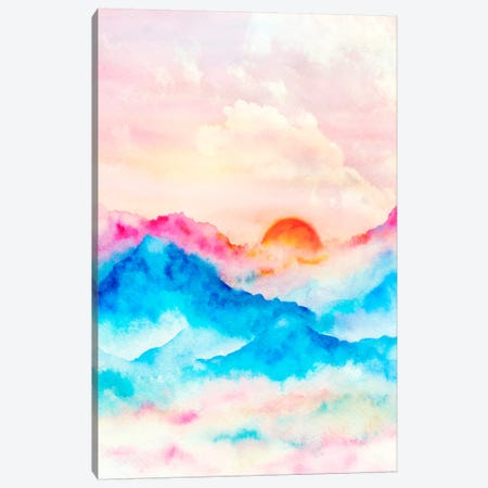 Sunset II Canvas Print #VGO91} by Viviana Gonzalez Canvas Art
