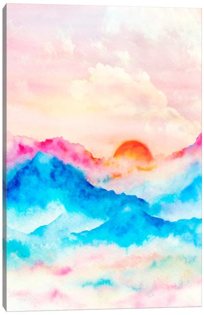 Sunset II Canvas Art Print