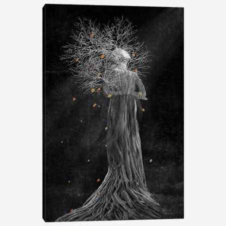 Dark Portrait In Autumn II Canvas Print #VGO93} by Viviana Gonzalez Canvas Artwork