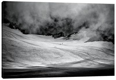 At The Foot Of Monte Rosa Canvas Art Print