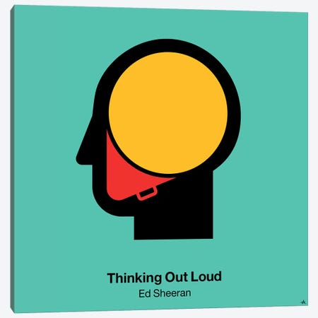 Thinking Out Loud Canvas Print #VHE100} by Viktor Hertz Canvas Art Print