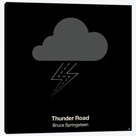 Thunder Road Canvas Print #VHE101} by Viktor Hertz Canvas Print