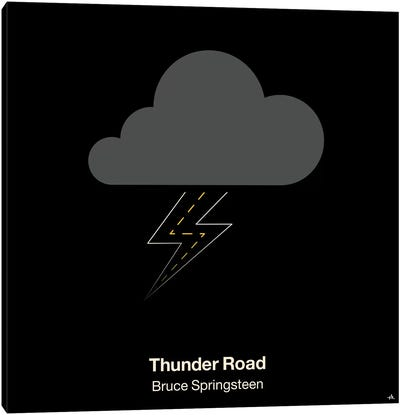 Thunder Road Canvas Art Print