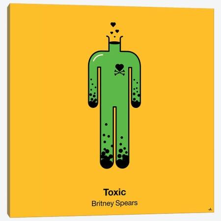 Toxic Canvas Print #VHE102} by Viktor Hertz Canvas Art Print
