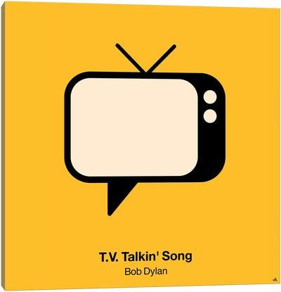 TV Talkin Song Canvas Art Print