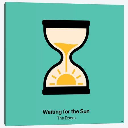 Waiting For The Sun Canvas Print #VHE105} by Viktor Hertz Canvas Artwork