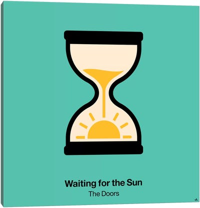 Waiting For The Sun Canvas Art Print