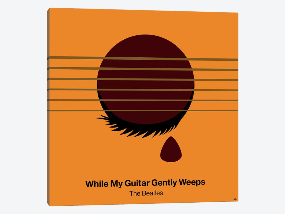 While My Guitar Gently Weeps by Viktor Hertz 1-piece Canvas Wall Art