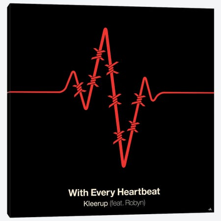 With Every Heartbeat Canvas Print #VHE108} by Viktor Hertz Canvas Print