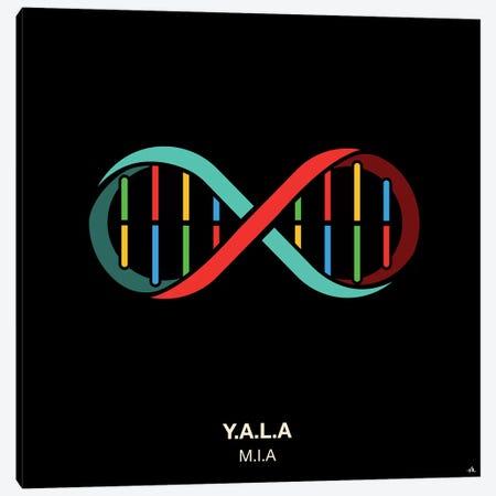 Y.A.L.A. Canvas Print #VHE109} by Viktor Hertz Canvas Art Print