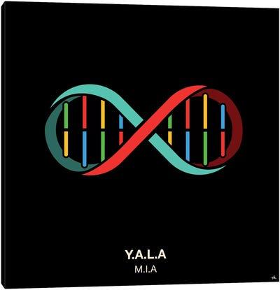Y.A.L.A. Canvas Art Print