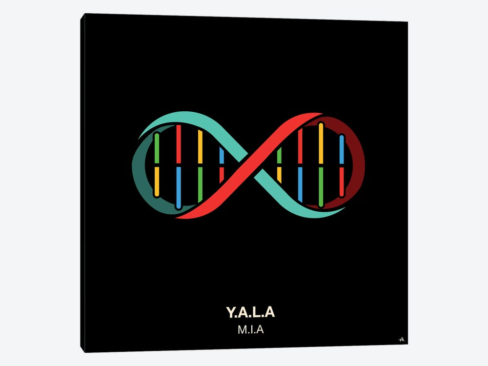 Y.A.L.A. by Viktor Hertz 1-piece Canvas Artwork