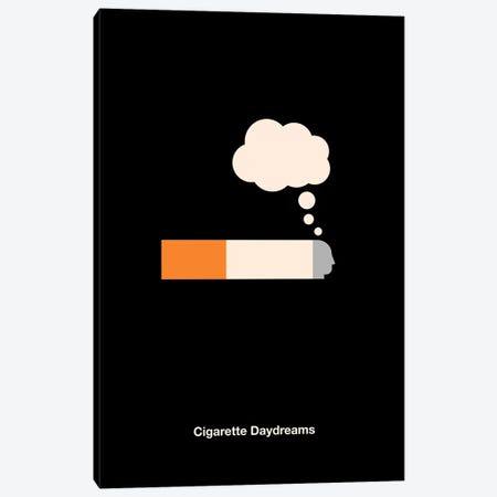 Cigarette Daydreams Canvas Print #VHE114} by Viktor Hertz Art Print