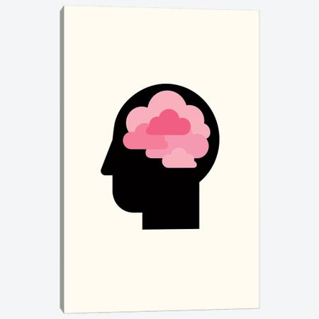 Clouded Mind Canvas Print #VHE115} by Viktor Hertz Art Print