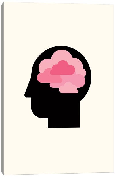 Clouded Mind Canvas Art Print