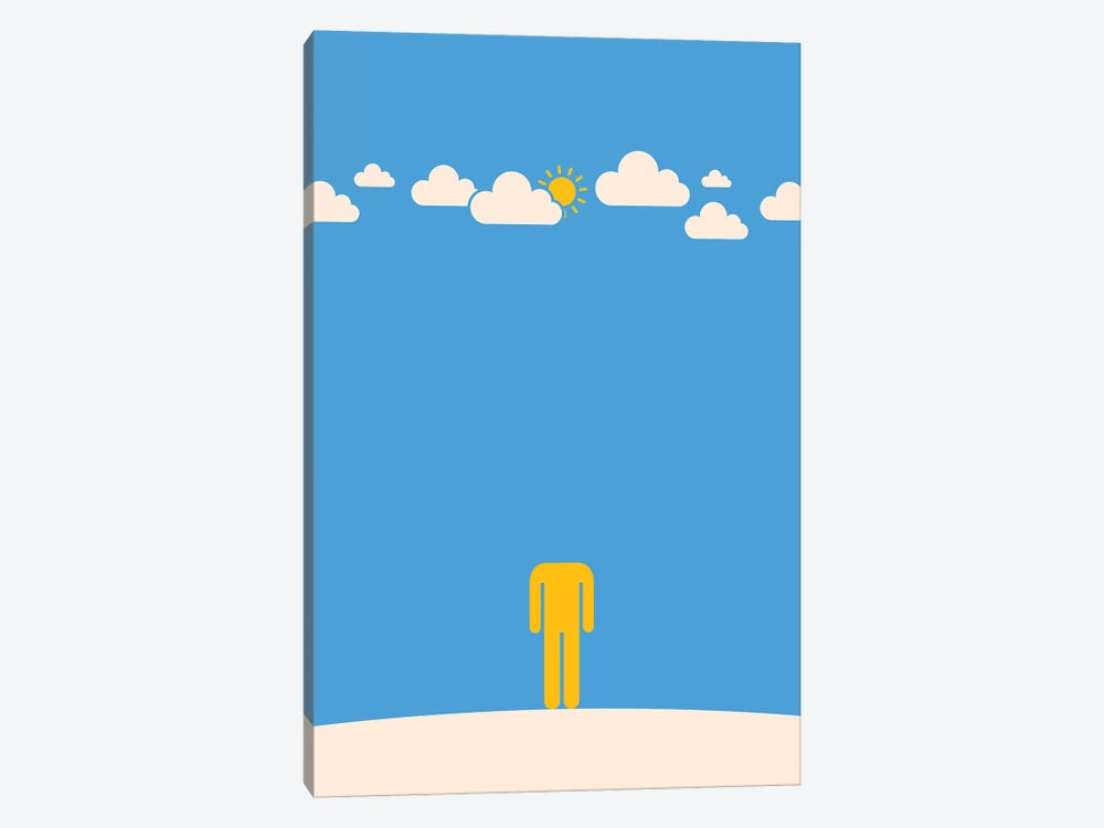 Head In The Clouds by Viktor Hertz 1-piece Canvas Wall Art