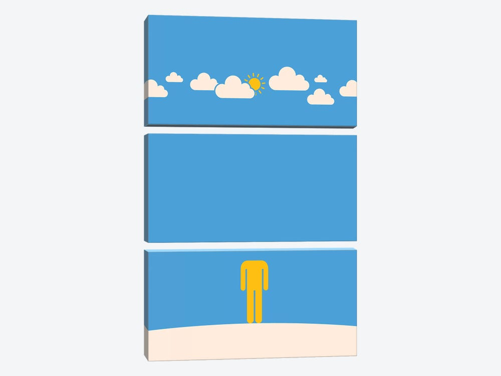 Head In The Clouds by Viktor Hertz 3-piece Canvas Art