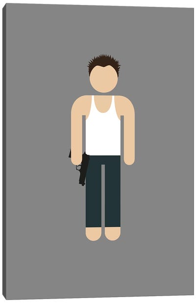 John McClane I Canvas Art Print