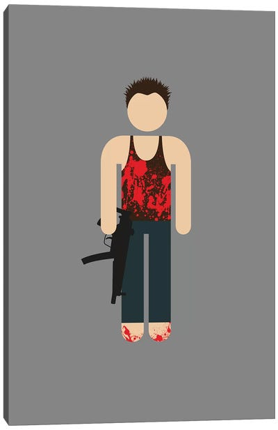John McClane II Canvas Art Print