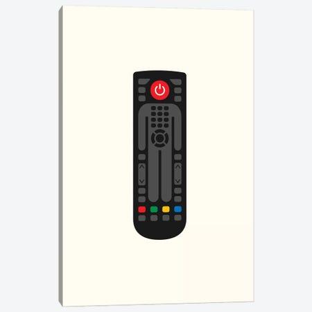 Remote Control Man Canvas Print #VHE136} by Viktor Hertz Art Print