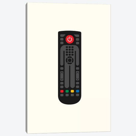 Remote Control Man Canvas Print #VHE136} by Viktor Hertz Art Print