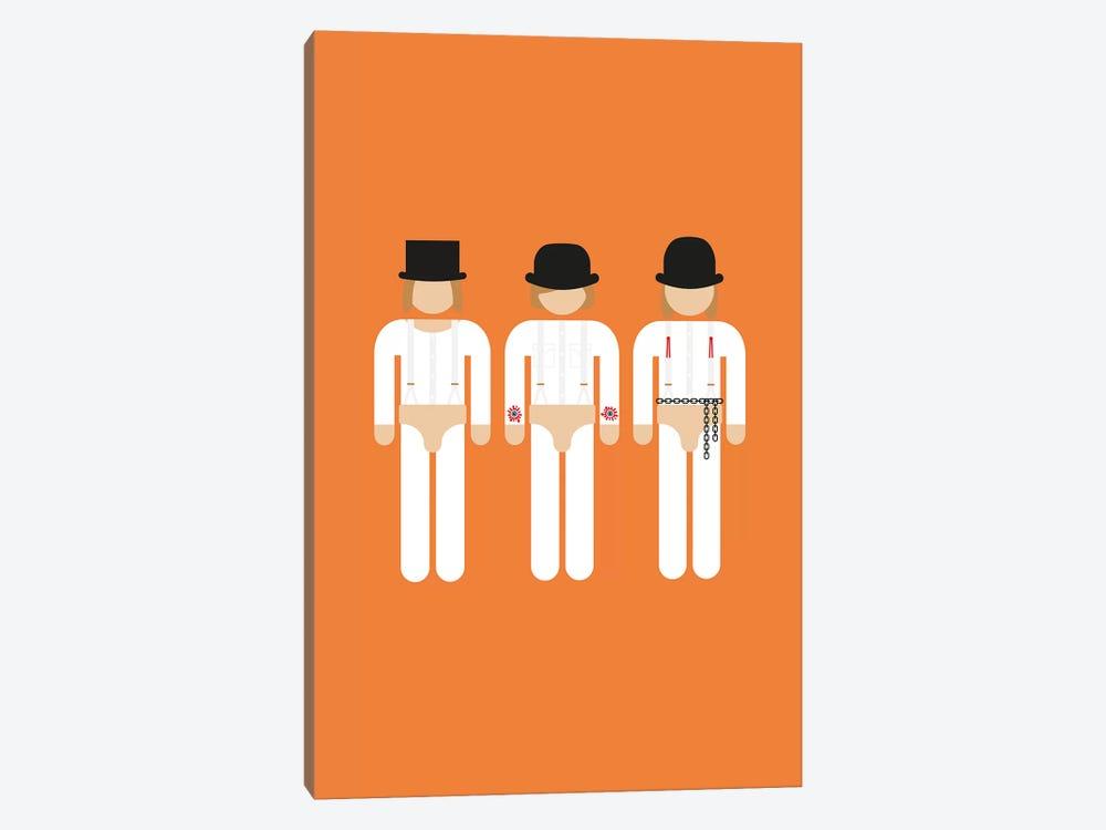 Three Droogs I by Viktor Hertz 1-piece Canvas Wall Art