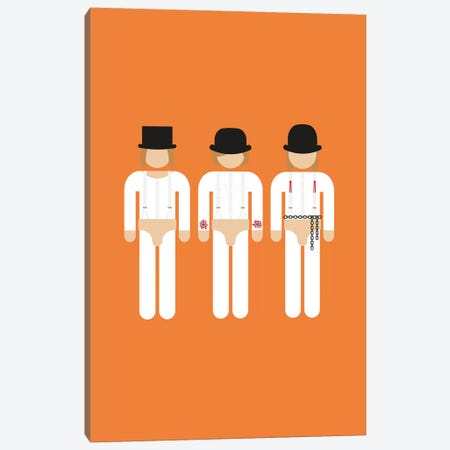 Three Droogs I Canvas Print #VHE143} by Viktor Hertz Art Print
