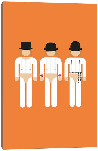 Three Droogs I Canvas Art Print
