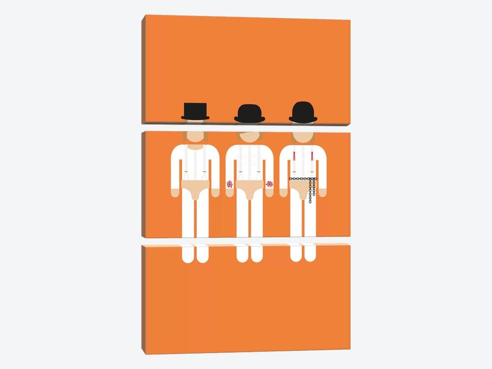 Three Droogs I by Viktor Hertz 3-piece Canvas Wall Art