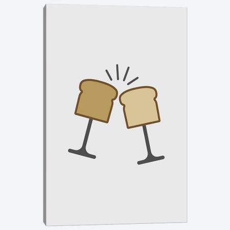 Toast Canvas Print #VHE145} by Viktor Hertz Canvas Art