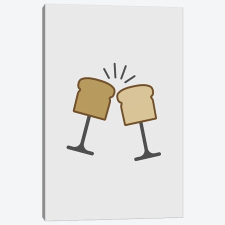 Toast Canvas Print #VHE145} by Viktor Hertz Canvas Art