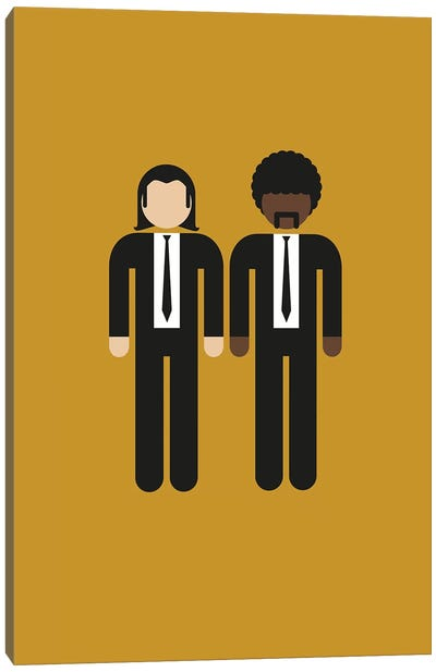 Vinnie And Jules I Canvas Art Print