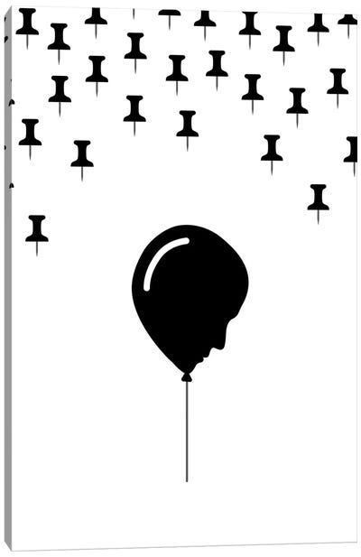 Balloon Head Canvas Art Print