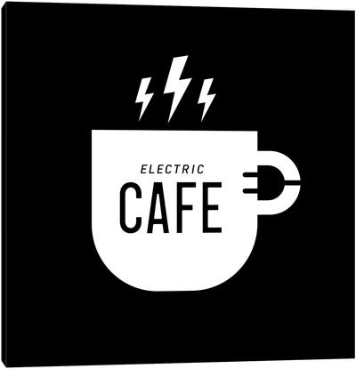 Electric Café Canvas Art Print
